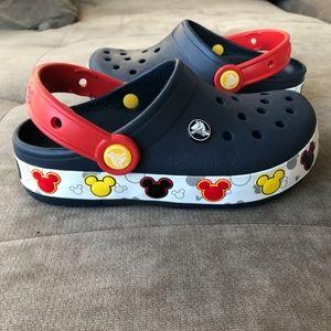 NWOT - Mickey Light-Up Clog